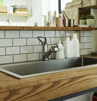 素敵な洗面台
