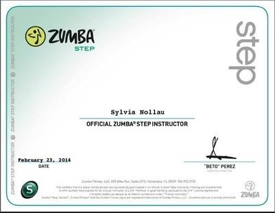 Zumba® Step Lizenz