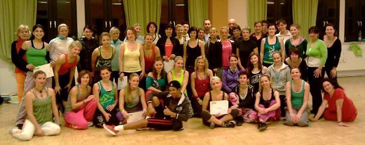 Zumba® Fitness B1 in Dresden mit Jennifer Hildebrand 17.12.2011 - 18.12.2011