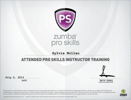 Zumba® Pro Skills Lizenz
