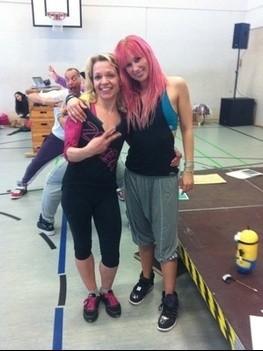 Zumba® Step Ausbildung in Wuppertal mit Jennifer Hildebrand am 21.02.2014
