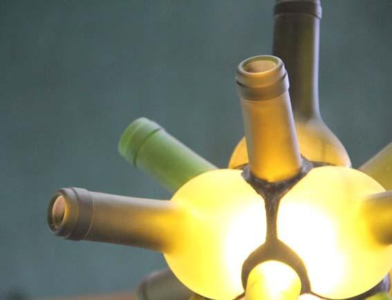 エコデザイン賞受賞 ワインのランプ