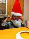 サンタさんお面Santa Mask