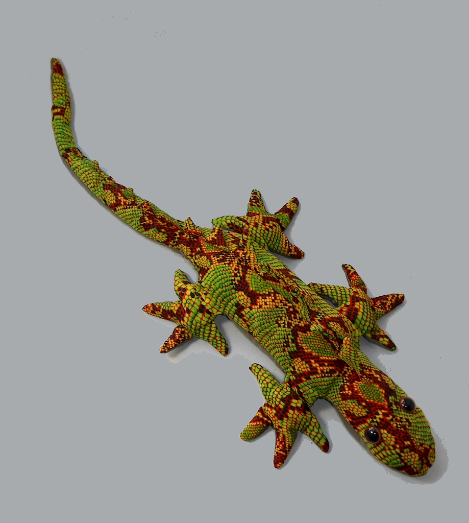 Leguan Sandtier grünlich