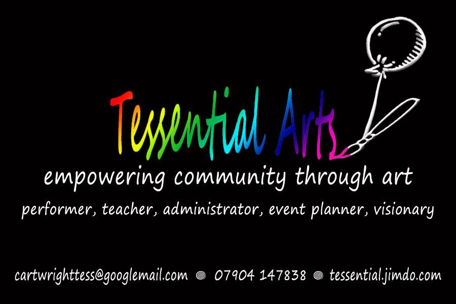 Tessential arts leaflet