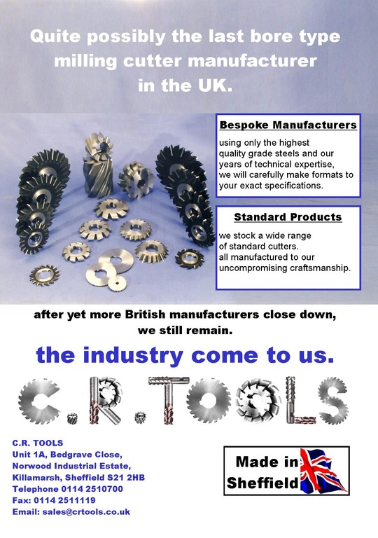 CR Tools leaflet