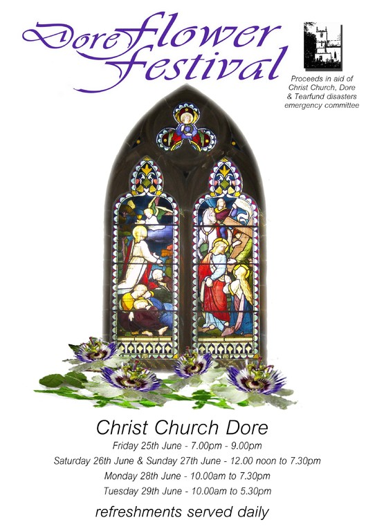 Dore flower show poster