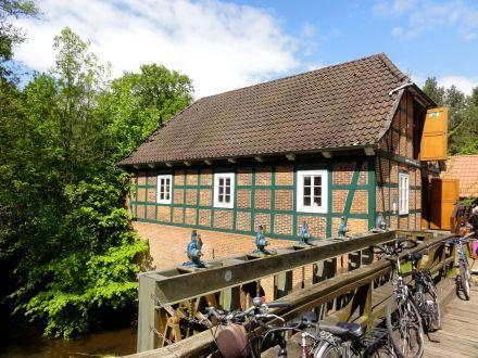 Wassermühle mit Wehr -heute-