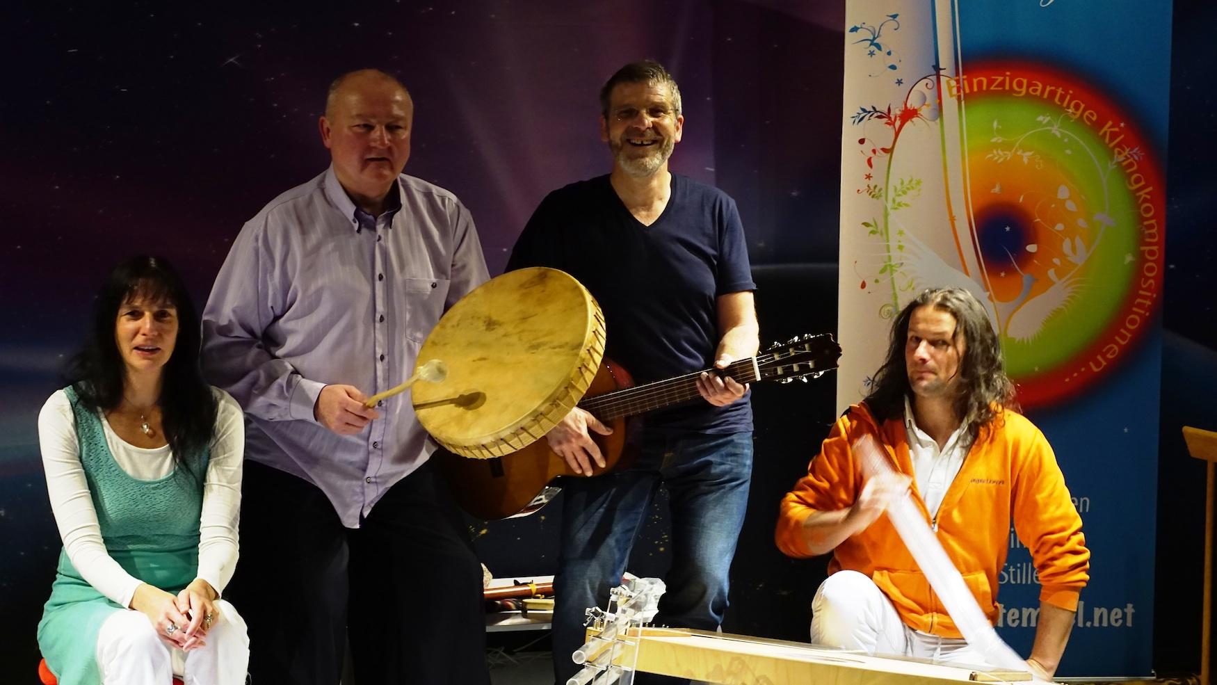 Studiolounge Leipzig 11.2.2017 mit Gong Mario und Götz Wittneben