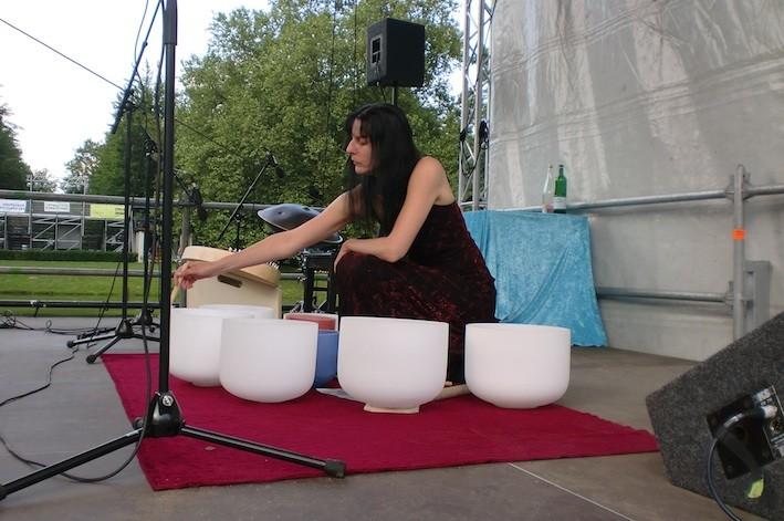 Konzert mit Syntonus zum Theaterfest 4.7.12 Mühlheim an der Ruhr. Foto: Krieger