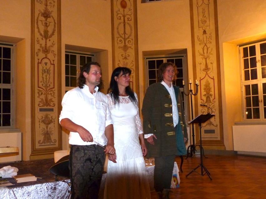 Bad Lauchstädt Kurparksaal Museumsnacht 6.6.2015  Foto: E. Duerselen