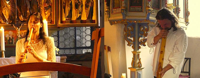 St. Michael Kirche Großkochberg 26.8.2016 St. Michael Kirche Großkochberg 26.8.2016 Himmlische Klänge und Goethliche Verse Gongmario & Jörg Tonndorf