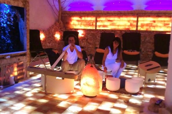 Klangwelten Jena - Kristallmusik 28.9.2012. Foto: MB