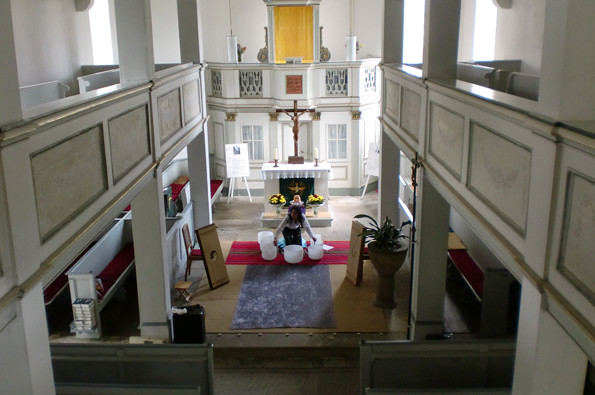 Das besondere Konzert 5.8.2011-Nikolauskirche: Foto: privat