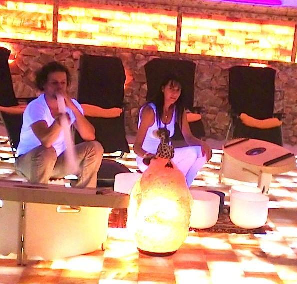 Klangwelten Jena - Kristallmusik 28.9.2012- Foto: Privat