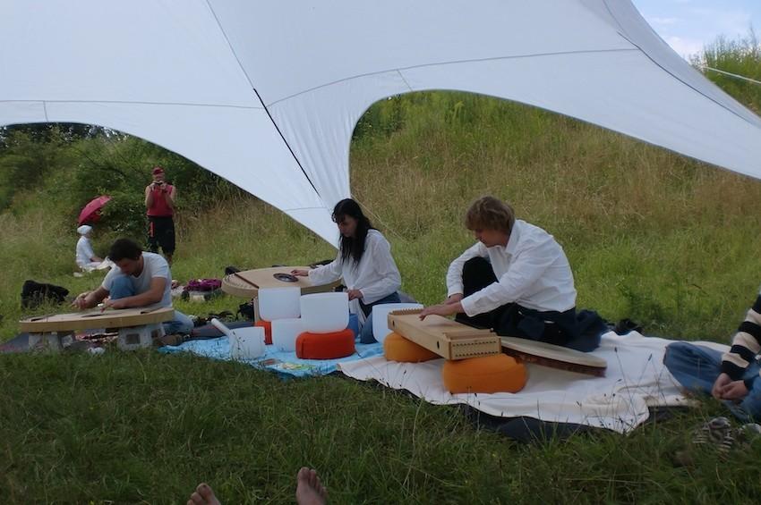 Wasserzeremonie-Fest der Sinne Leipzig 22.8.2012. Foto: privat