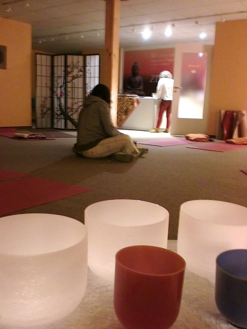 Burgstädt - Yogastudio Zeit für dich - Probe. Foto: privat