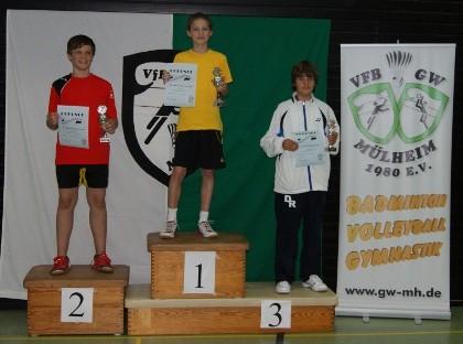 Bronze für Dustin Rösen (rechts).
