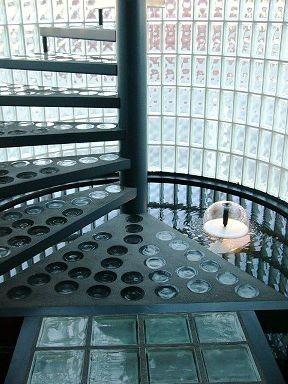 Glasbausteine-center.de Glasbausteine-center betongläser Glasstahlbeton Fertigteile FT-Glasbausteine FT-Betongläser Runde  kreisrund solaris treppen paneele  Glass Blocks Pavers Solaris Beton Laeser Glazen bouwstenen Briques de verre a demi-cocque Luksfer