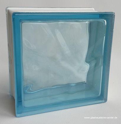azur 1919 10 wave glasstein farbe glasbausteine center. Black Bedroom Furniture Sets. Home Design Ideas