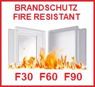 Brandschutz Feuerschutz Fire resitant feuerfester Glasbaustein Glasstein Feuerfest Glass Blocks