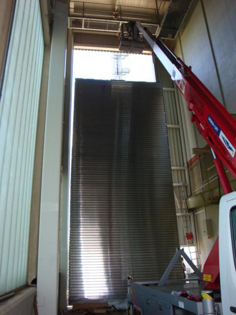 Fast kein Tor ist uns zu Hoch! Rolltor für eine Mühle, ca. 5.00 x 14.00 m gross!