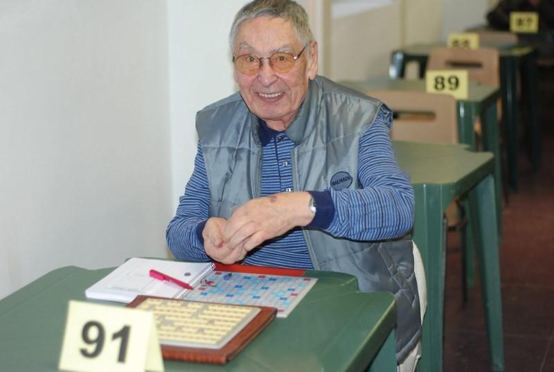 Jean, à 93 ans, s'est d'ailleurs honorablement classé !