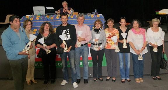 H. Mathieu championne de Provence en série 4 (à dr)