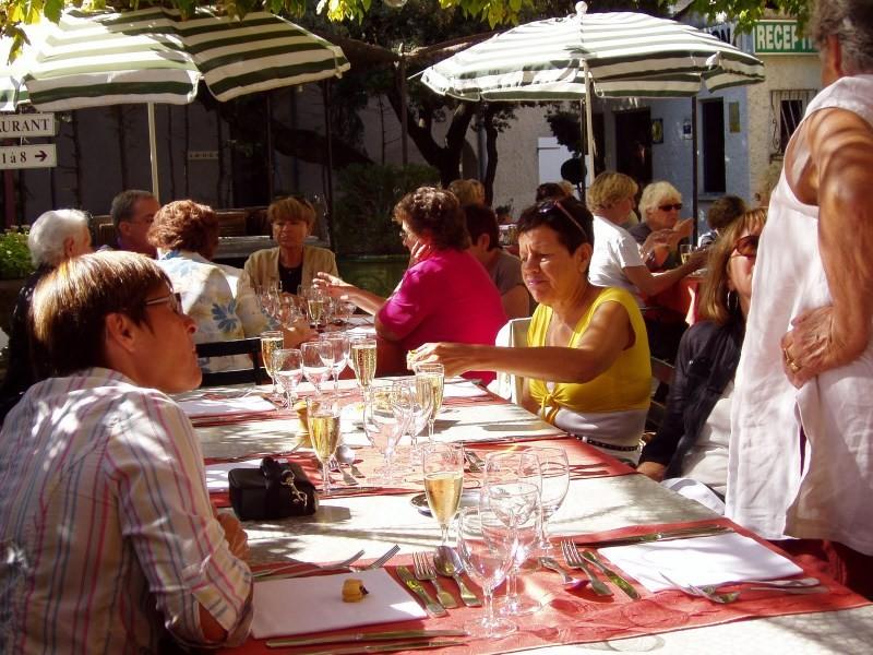 Repas à La Tonnelle