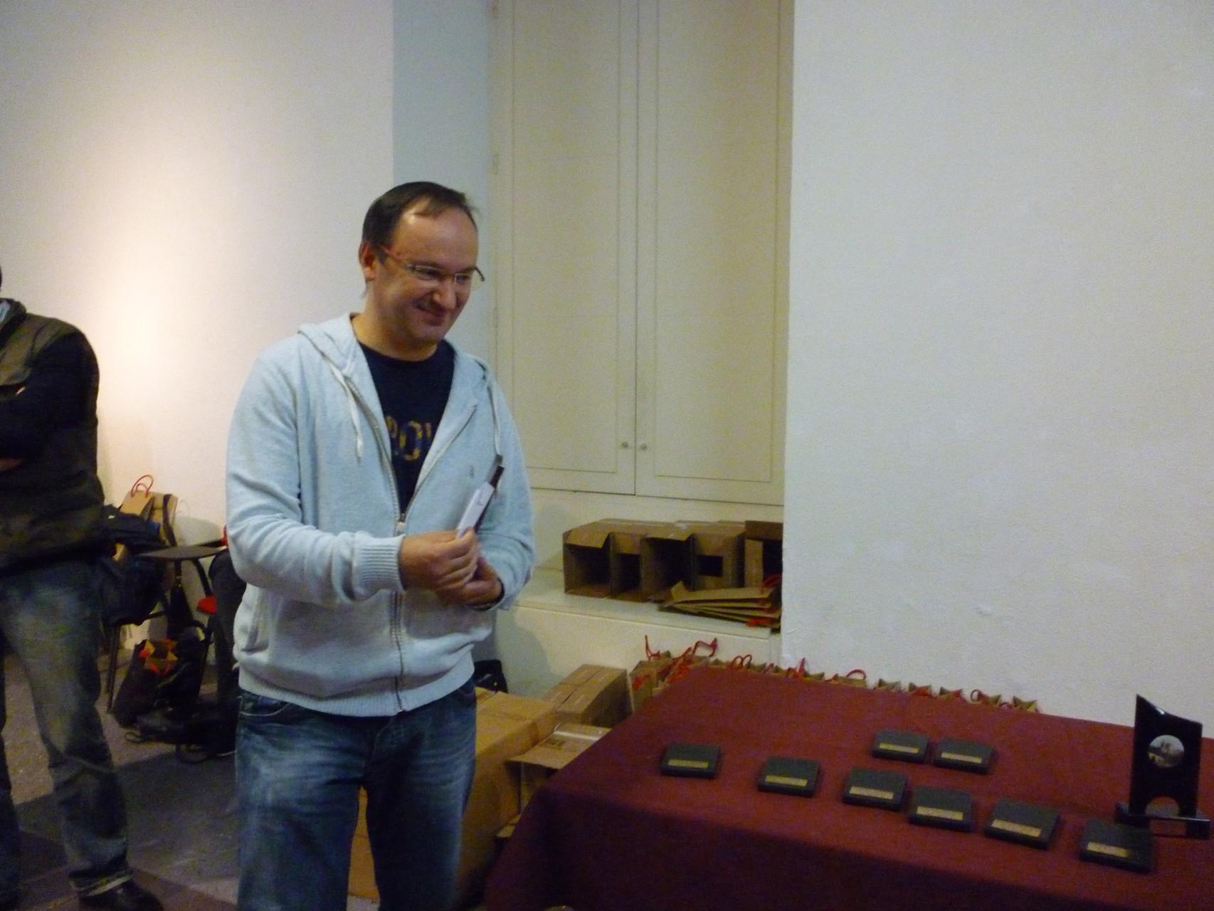 Pascal Séguier a remporté le tournoi,