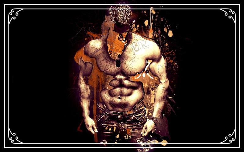 Muskelaufbau Training Workout