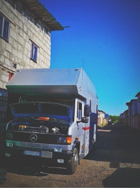bigousteppes russie mécanique camion mercedes