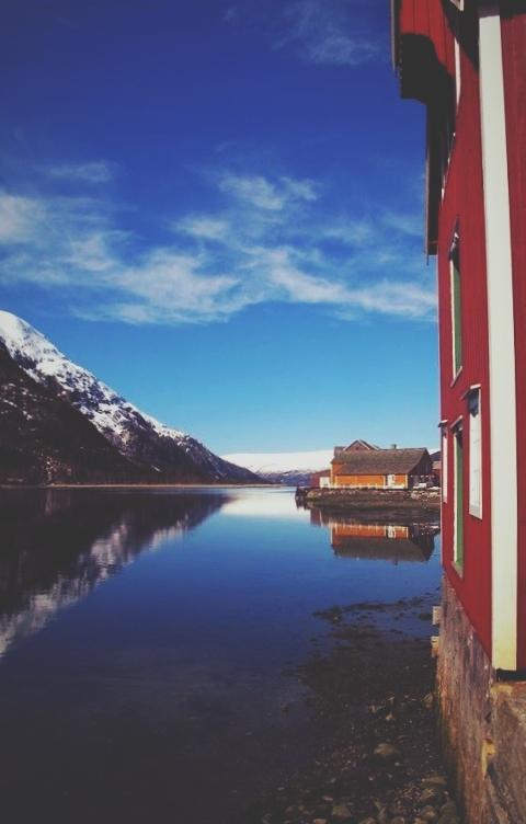 bigousteppes norvège mosjoen quartier maison bois