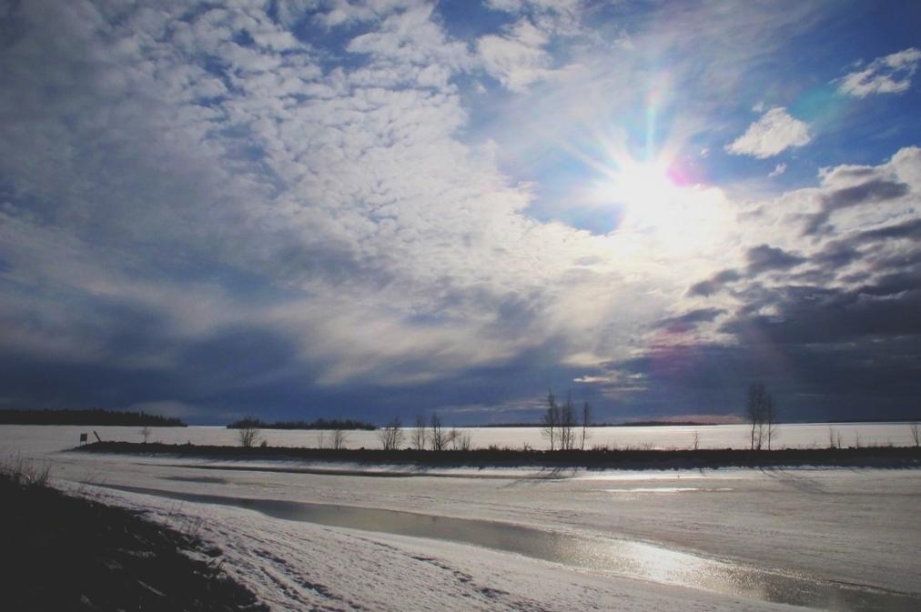 bigusteppes finlande mer glace neige