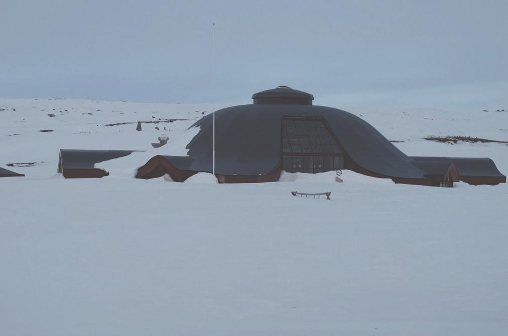 bigousteppes norvège arctique neige