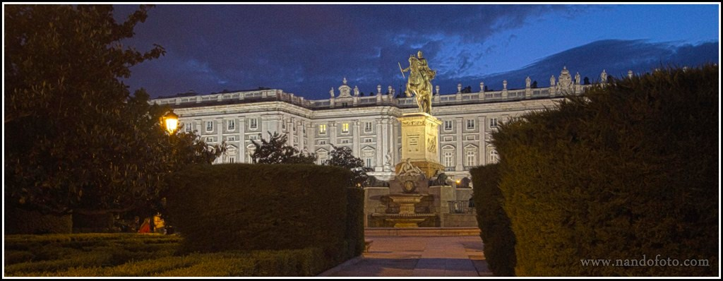 Palacio Real de Oriente, Madrid