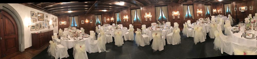 Alma Cilurzo Hochzeitssängerin Hochzeitslocation Schlosshotel Merlischachen Trauung im Rittersaal