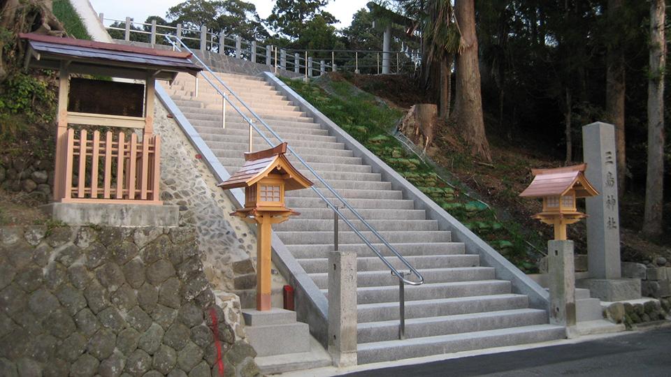 三島神社男坂の画像