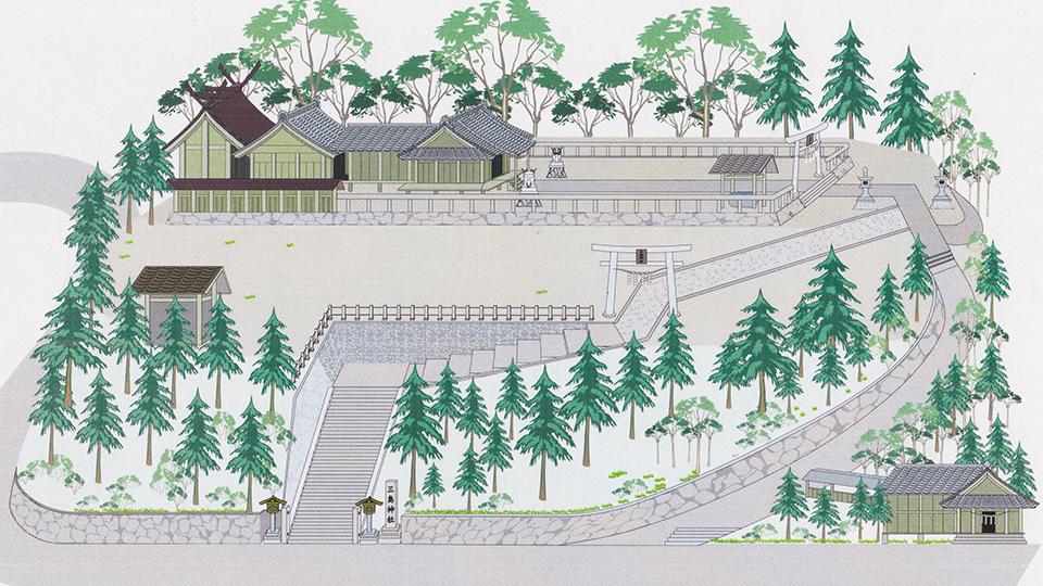 三島神社全体画像