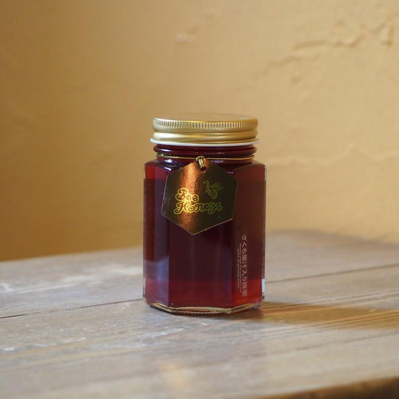 【精製蜂蜜】ざくろ果汁入りはちみつ200g,はちみつオンライン通販ビーハニー