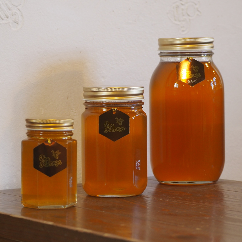 爽やかな薫りとほんのり甘酸っぱいフルーティーな蜂蜜,国産純粋蜂蜜,りんごはちみつ1.2kg,Bee Honey,はちみつオンライン通販ビーハニー