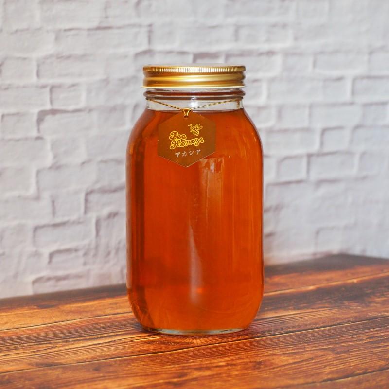 やさしく上品な薫りと繊細な味わいの蜂蜜,イタリア産純粋蜂蜜,アカシアはちみつ1.2kg,Bee Honey,はちみつオンライン通販ビーハニー