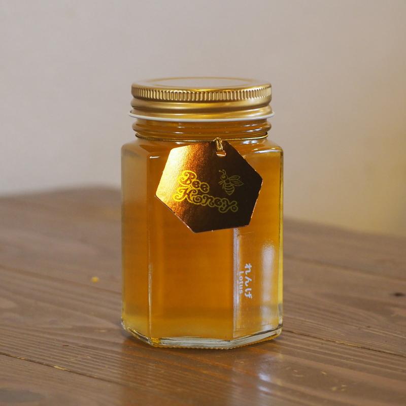 王道の味わいを楽しめる蜂蜜,国産純粋はちみつ,れんげはちみつ200g,Bee Honey,はちみつオンライン通販ビーハニー