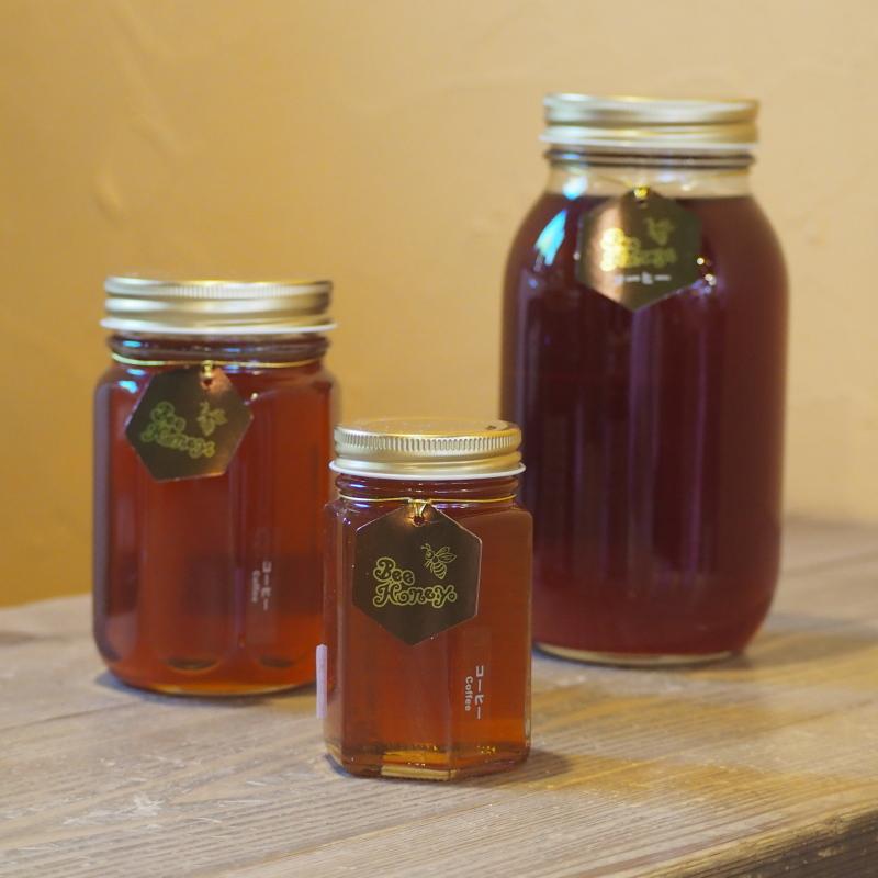 コーヒーとの相性抜群の奥深い味わいの蜂蜜,ブラジル産純粋蜂蜜,コーヒーはちみつ1.2kg,Bee Honey,はちみつオンライン通販ビーハニー
