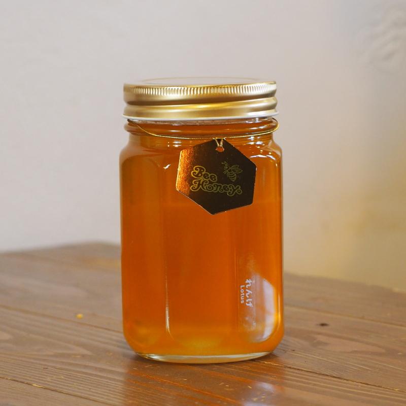 王道の味わいを楽しめる蜂蜜,国産純粋はちみつ,れんげはちみつ500g,Bee Honey,はちみつオンライン通販ビーハニー
