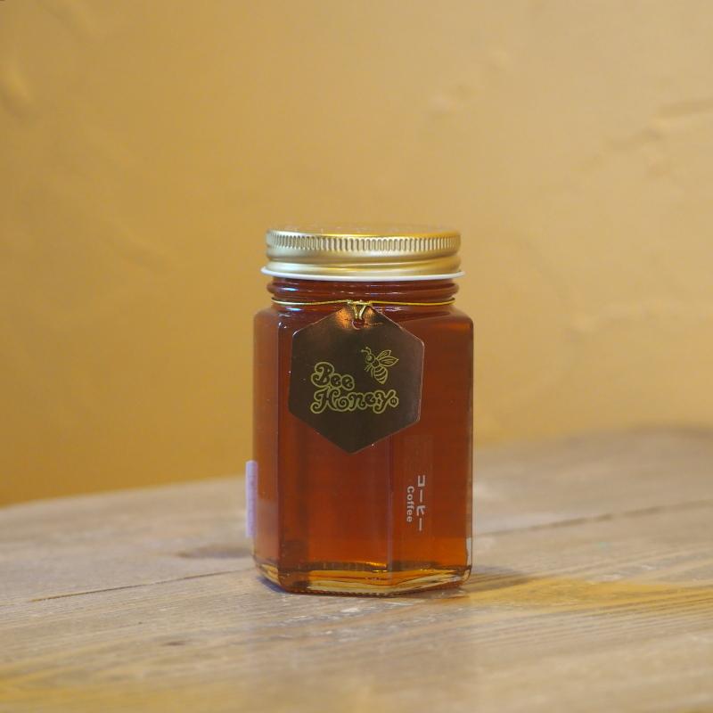 コーヒーとの相性抜群の奥深い味わいの蜂蜜,ブラジル産純粋蜂蜜,コーヒーはちみつ200g,Bee Honey,はちみつオンライン通販ビーハニー