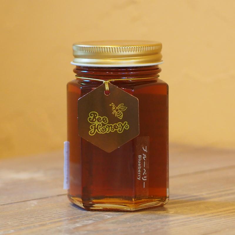 フルーティーな薫りと甘酸っぱい風味が爽やかな蜂蜜,カナダ産純粋蜂蜜,ブルーベリーはちみつ200g,Bee Honey,はちみつオンライン通販ビーハニー
