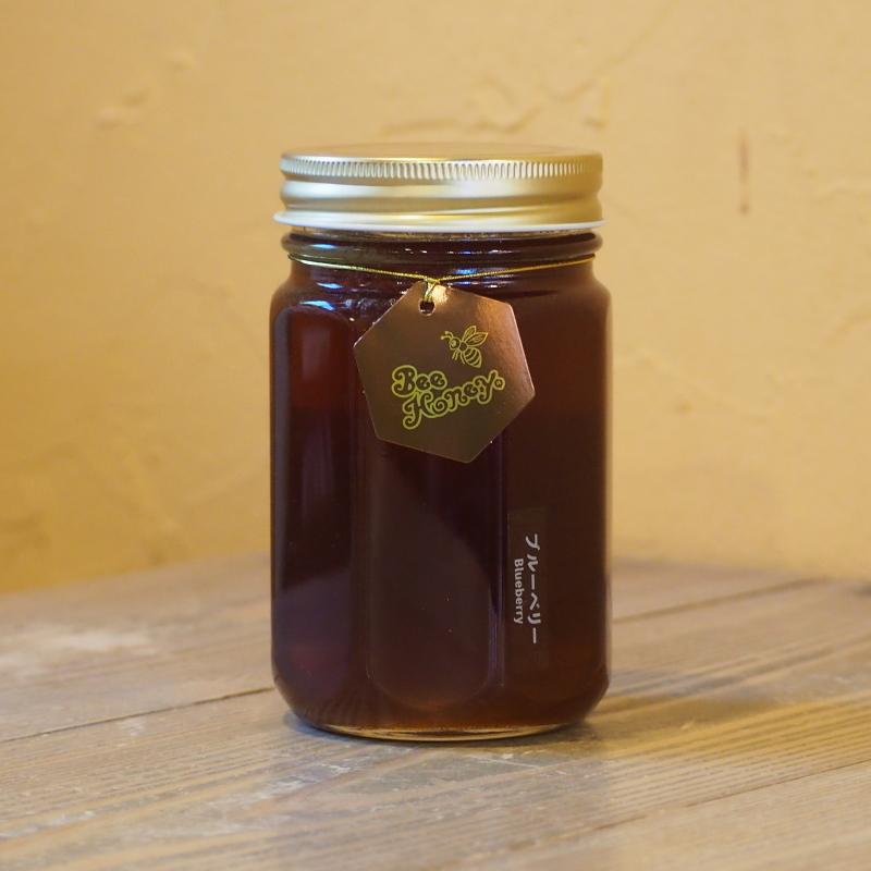 フルーティーな薫りと甘酸っぱい風味が爽やかな蜂蜜,カナダ産純粋蜂蜜,ブルーベリーはちみつ500g,Bee Honey,はちみつオンライン通販ビーハニー