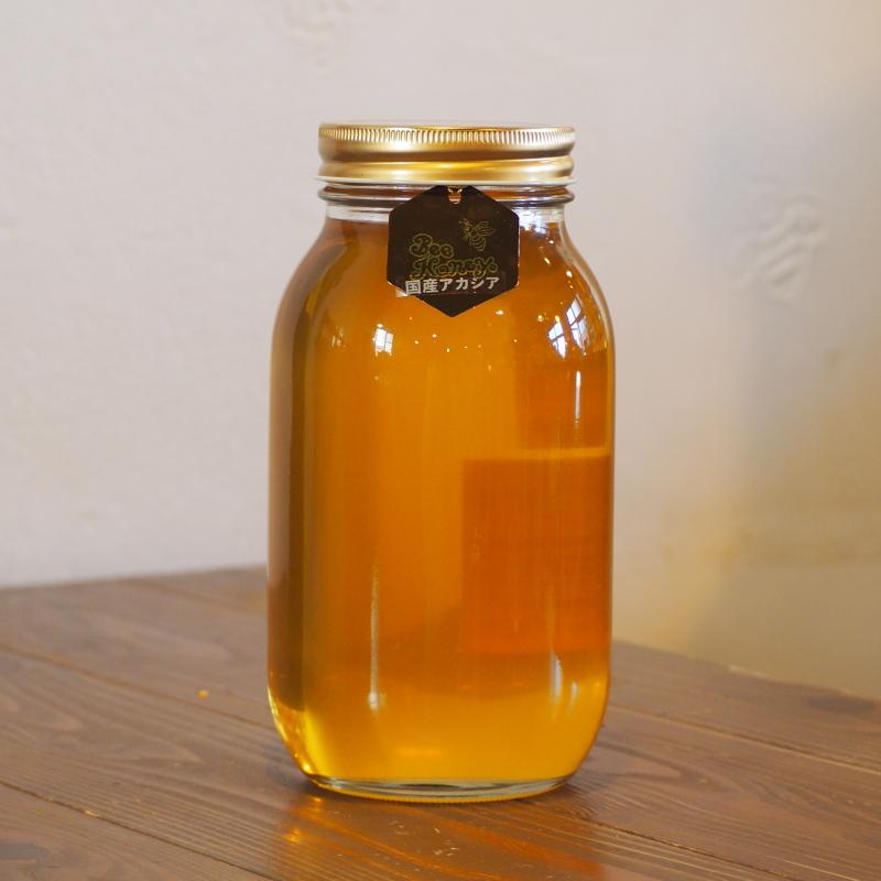 """""""食べやすい蜂蜜""""として、たくさんの人気を集める味わい,国産純粋蜂蜜,アカシアはちみつ1.2kg,Bee Honey,はちみつオンライン通販ビーハニー"""