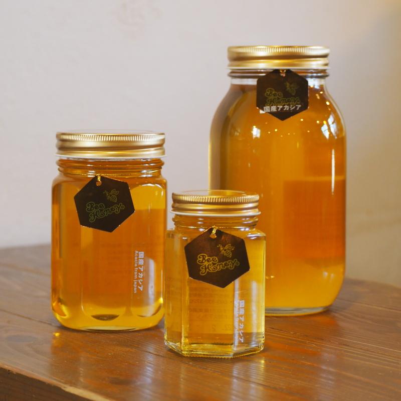 【国産純粋蜂蜜】アカシアはちみつ,,Bee Honey,はちみつオンライン通販ビーハニー